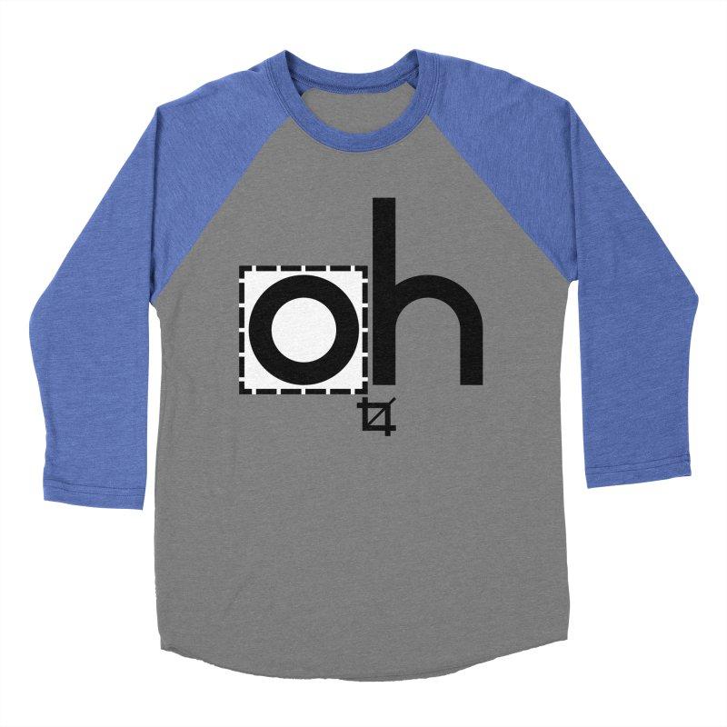 oh crop Women's Baseball Triblend T-Shirt by bortwein's Artist Shop