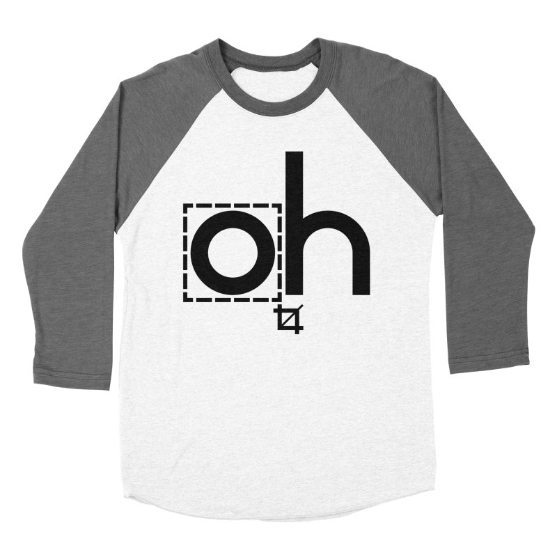 oh crop Men's Baseball Triblend T-Shirt by bortwein's Artist Shop