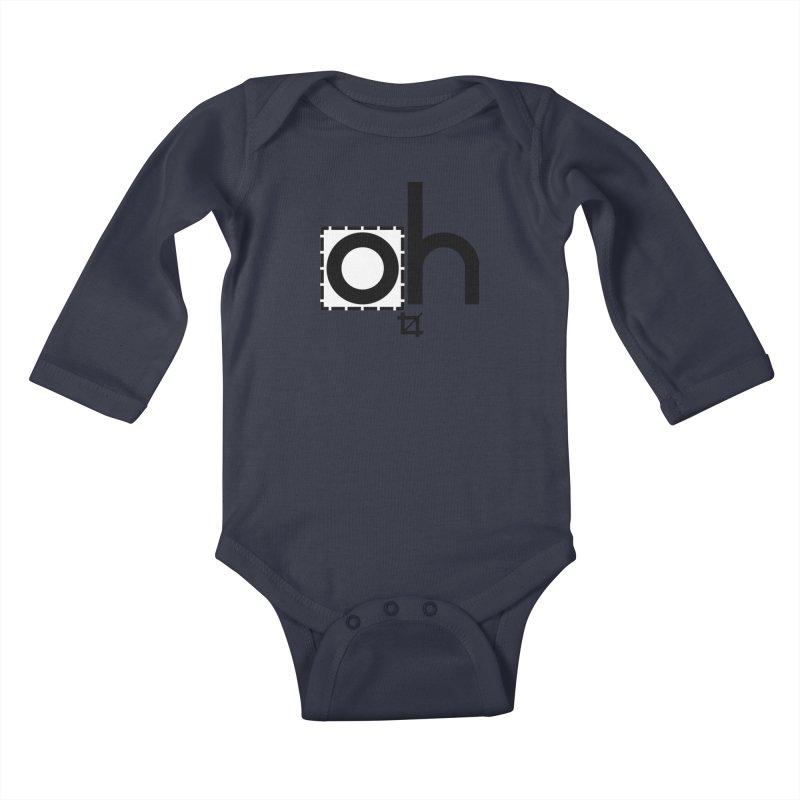 oh crop Kids Baby Longsleeve Bodysuit by bortwein's Artist Shop