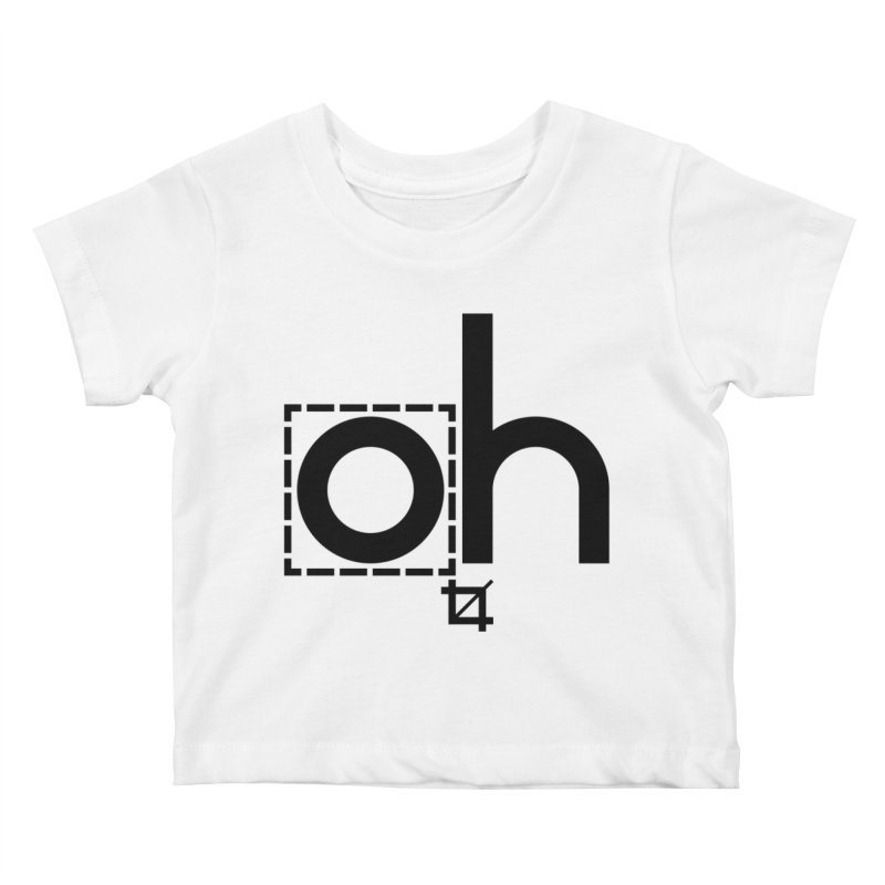 oh crop Kids Baby T-Shirt by bortwein's Artist Shop