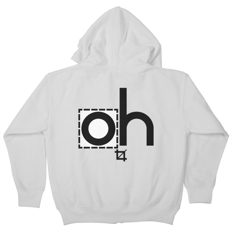 oh crop Kids Zip-Up Hoody by bortwein's Artist Shop