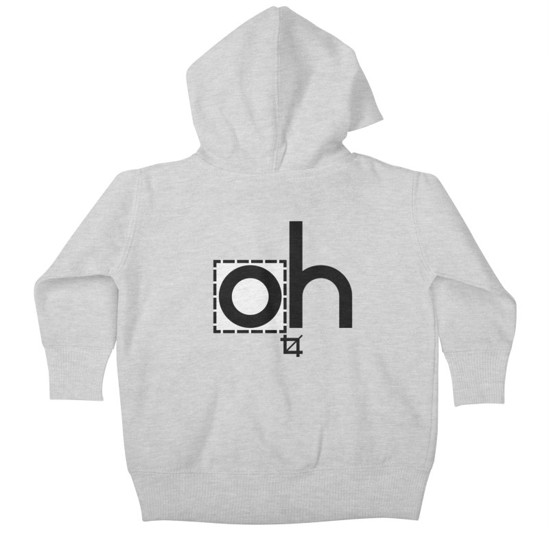 oh crop Kids Baby Zip-Up Hoody by bortwein's Artist Shop