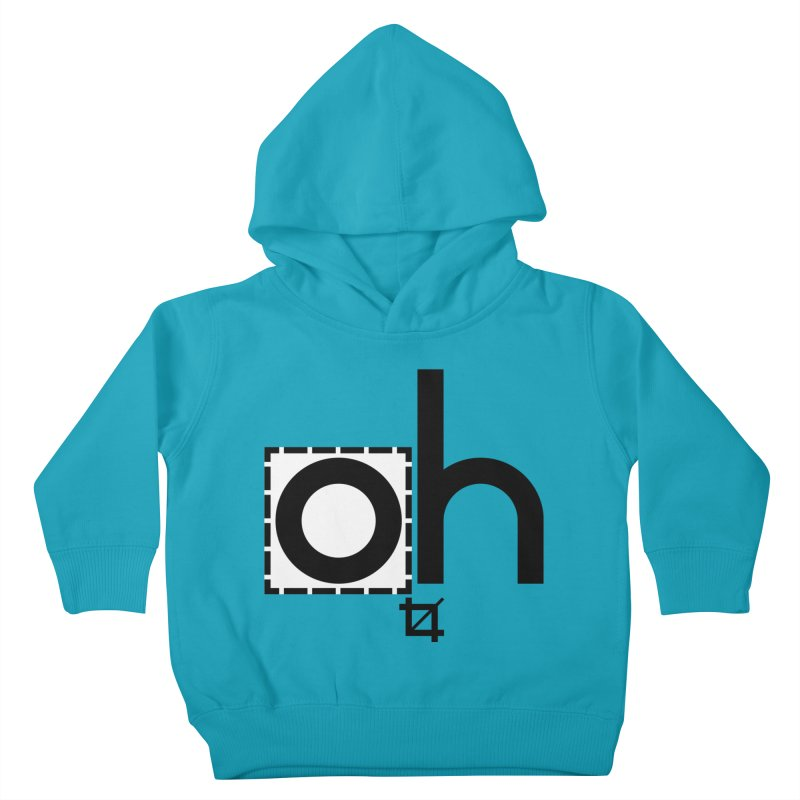 oh crop Kids Toddler Pullover Hoody by bortwein's Artist Shop