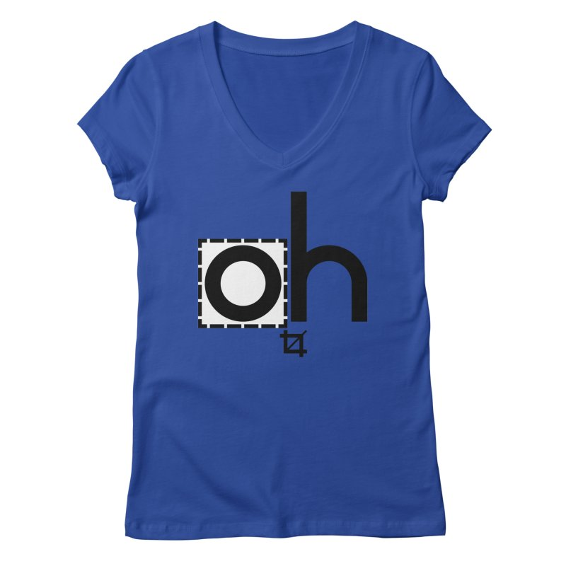 oh crop Women's Regular V-Neck by bortwein's Artist Shop