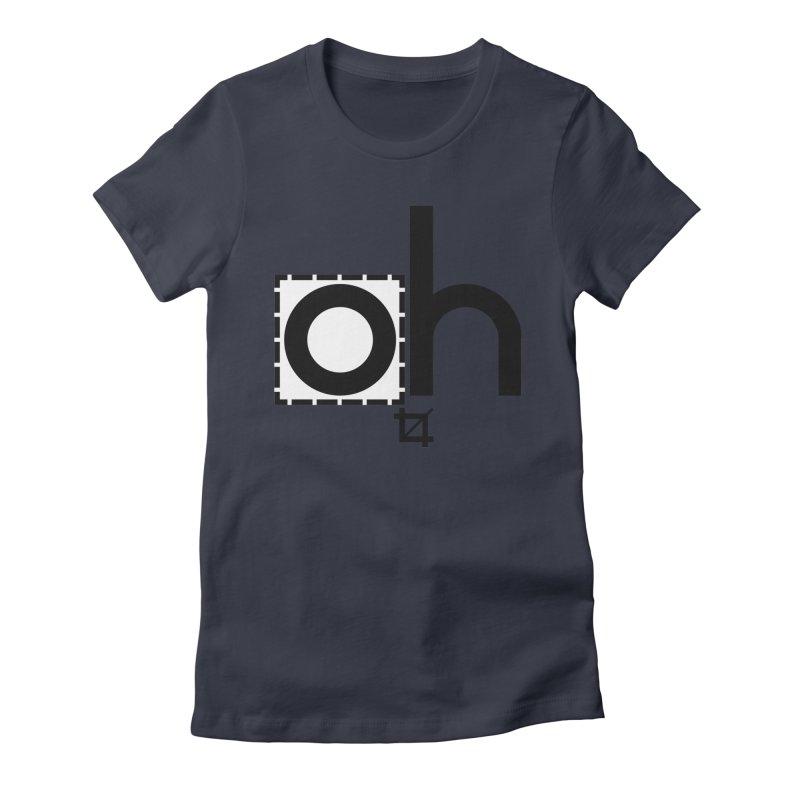 oh crop Women's Fitted T-Shirt by bortwein's Artist Shop