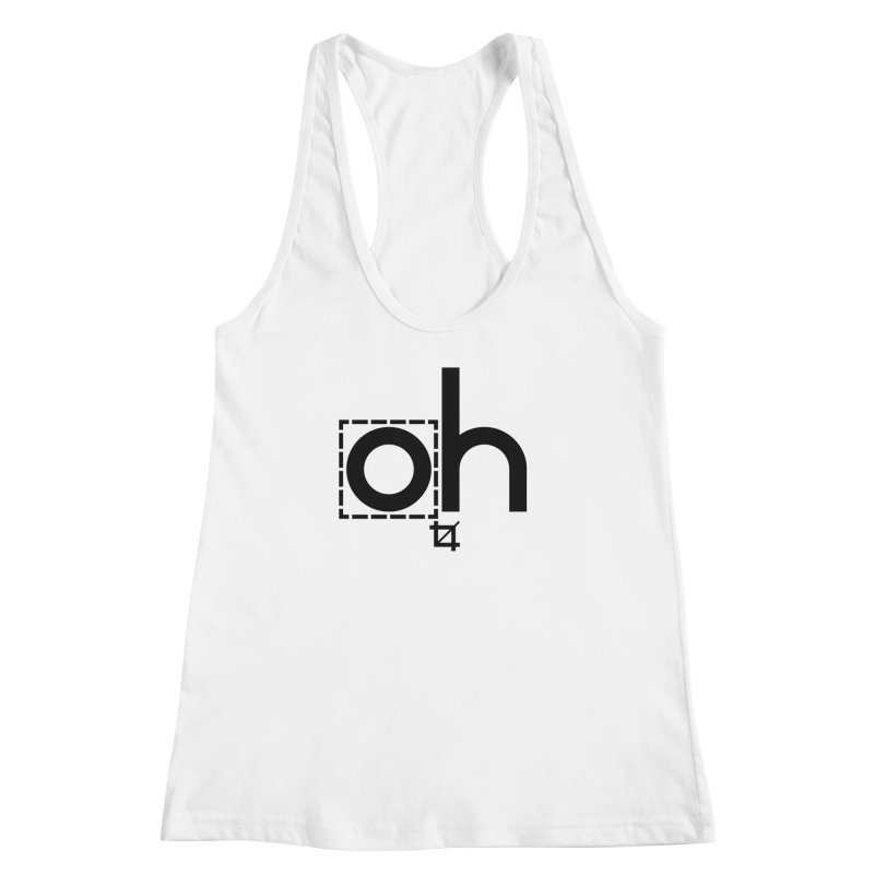 oh crop Women's Racerback Tank by bortwein's Artist Shop
