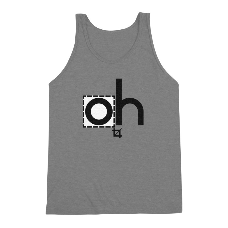 oh crop Men's Triblend Tank by bortwein's Artist Shop