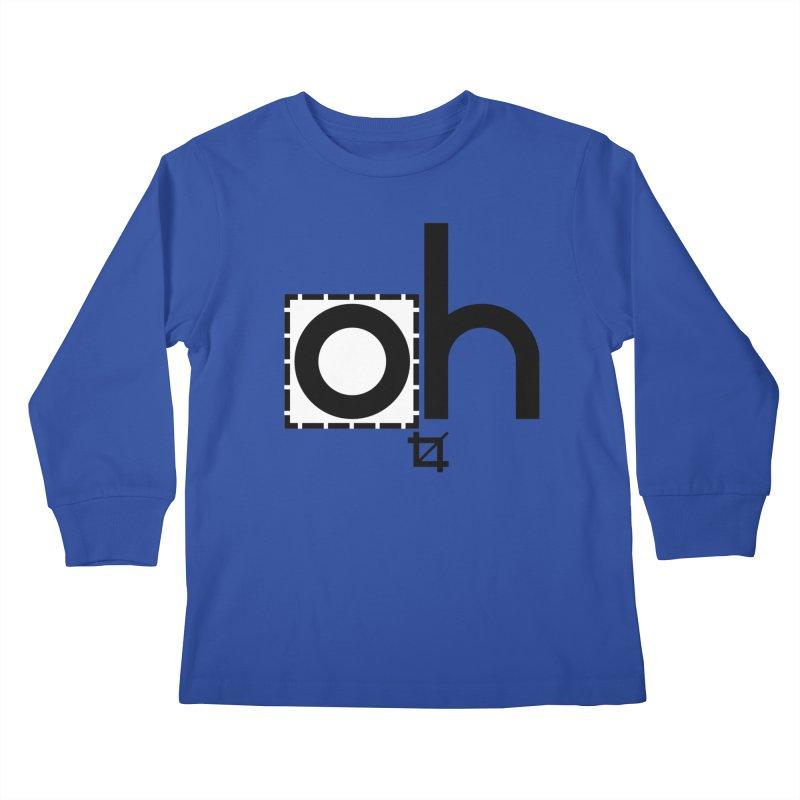 oh crop Kids Longsleeve T-Shirt by bortwein's Artist Shop