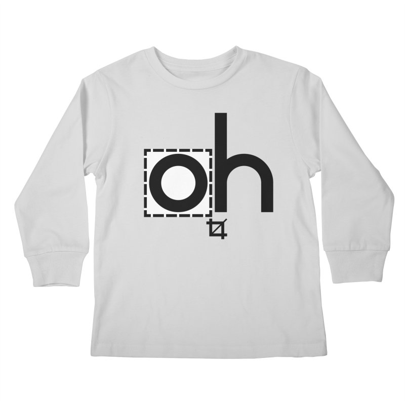 oh crop Kids Longsleeve T-Shirt by bortwein's Artist Shop