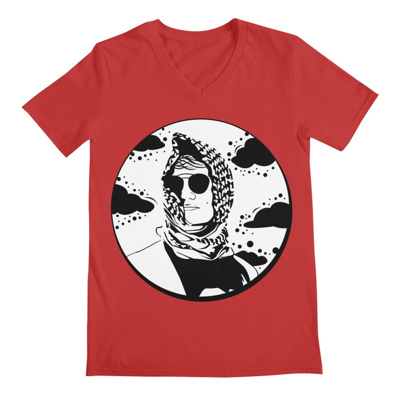 Josh Men's Regular V-Neck by Boshik's Tshirt Shop
