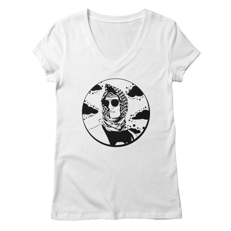 Josh Women's Regular V-Neck by Boshik's Tshirt Shop