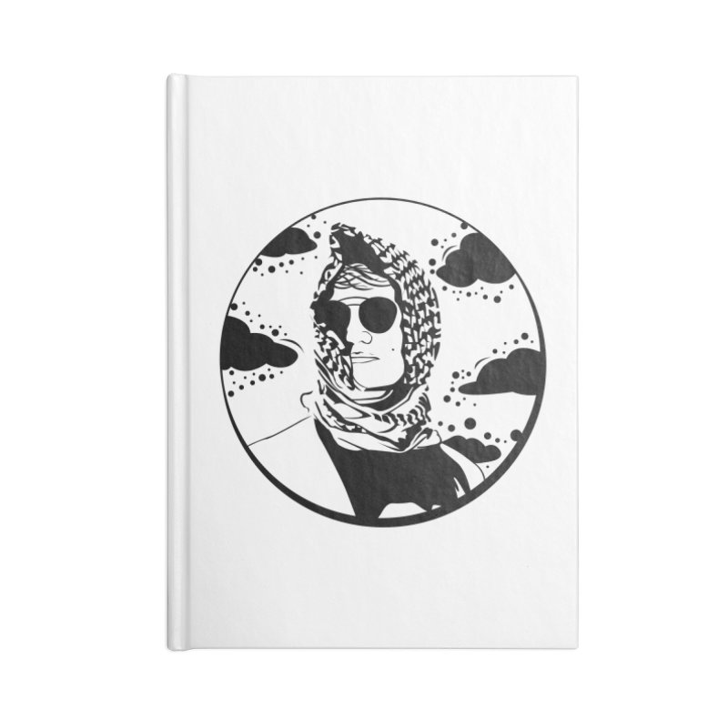 Josh Accessories Blank Journal Notebook by Boshik's Tshirt Shop