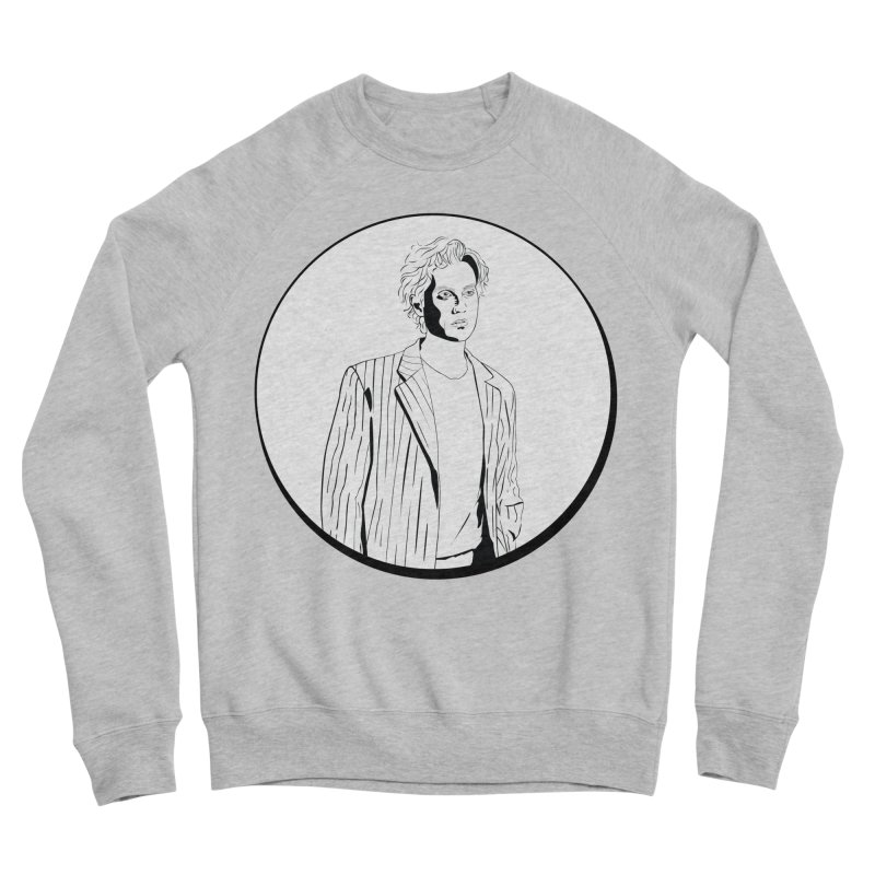 Luke Men's Sponge Fleece Sweatshirt by Boshik's Tshirt Shop