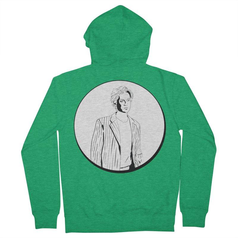 Luke Men's Zip-Up Hoody by Boshik's Tshirt Shop