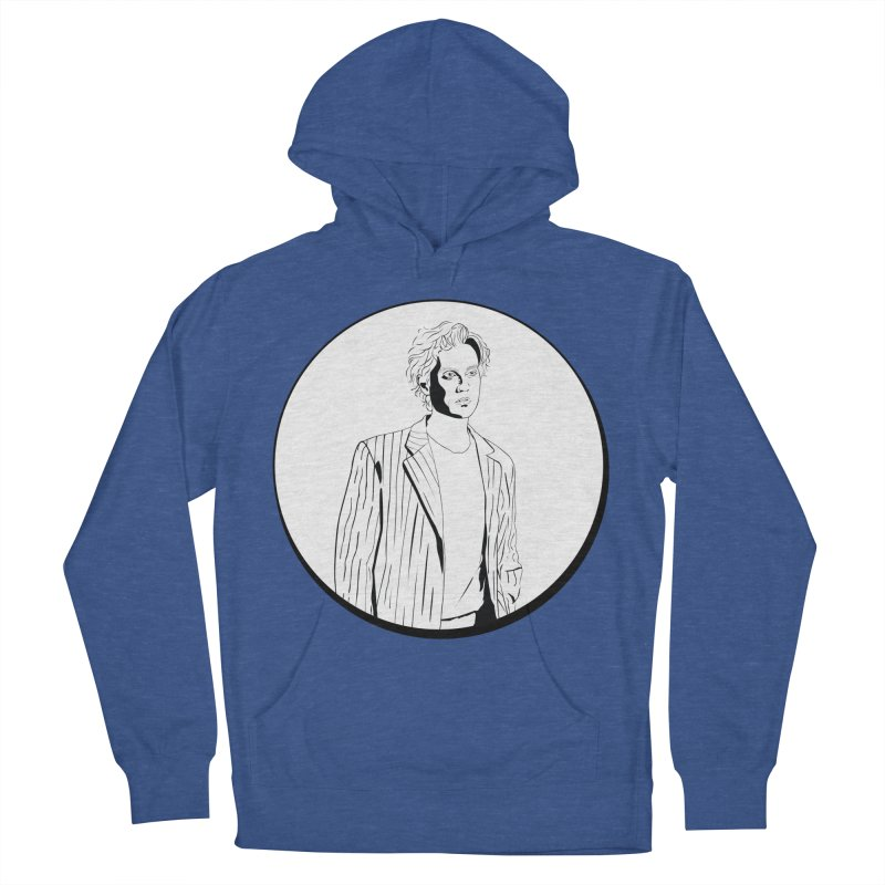 Luke Men's French Terry Pullover Hoody by Boshik's Tshirt Shop
