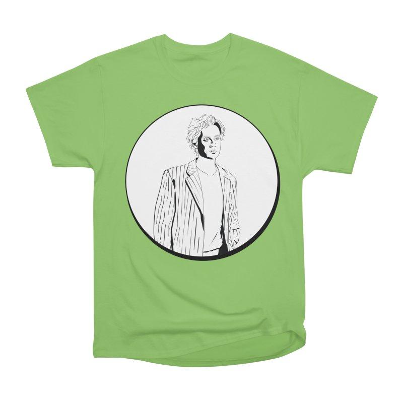 Luke Men's Heavyweight T-Shirt by Boshik's Tshirt Shop