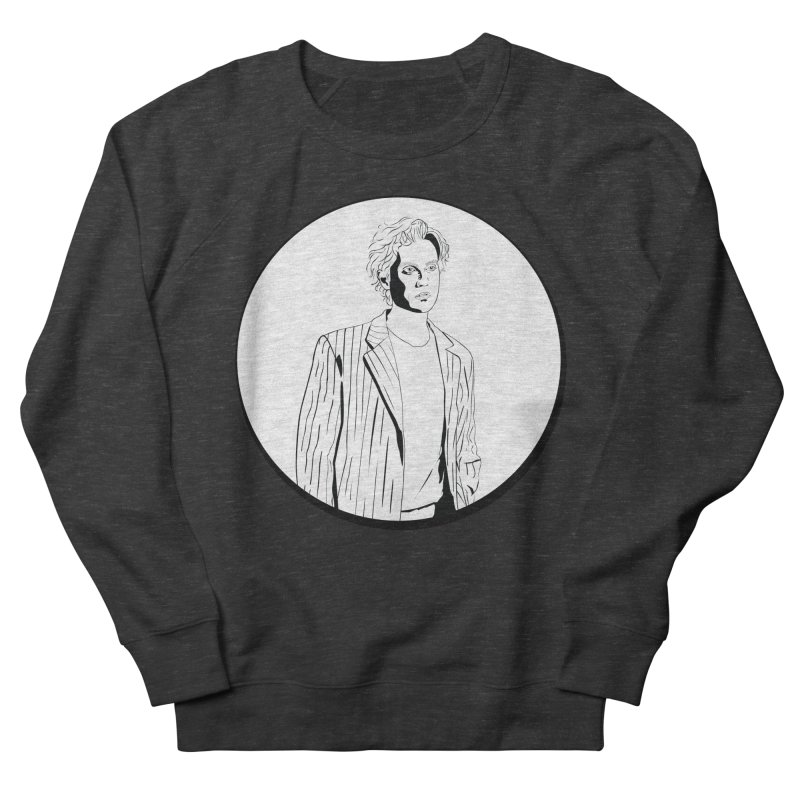 Luke Men's French Terry Sweatshirt by Boshik's Tshirt Shop