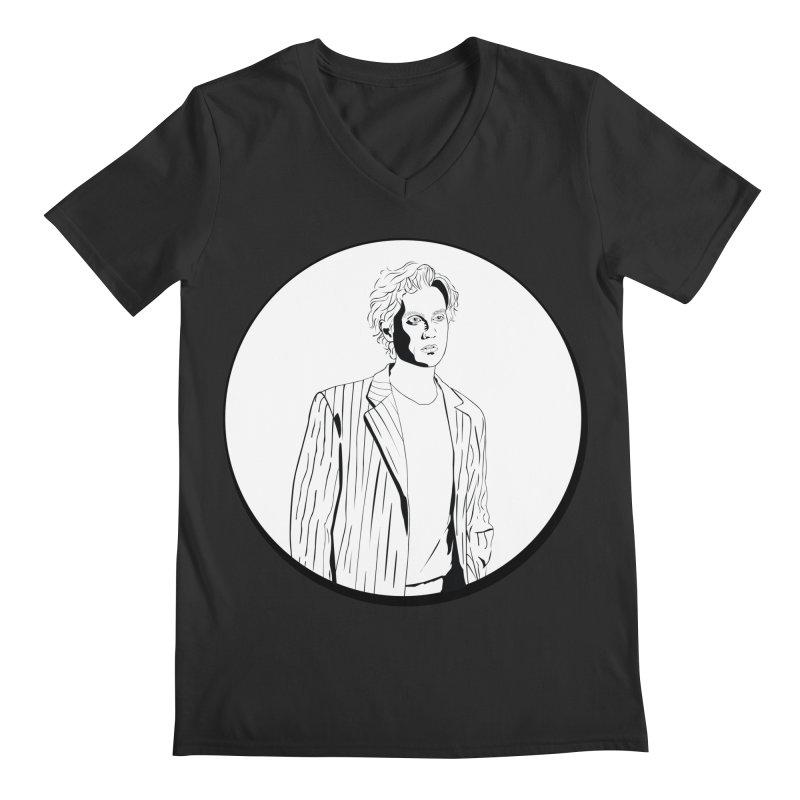 Luke Men's Regular V-Neck by Boshik's Tshirt Shop