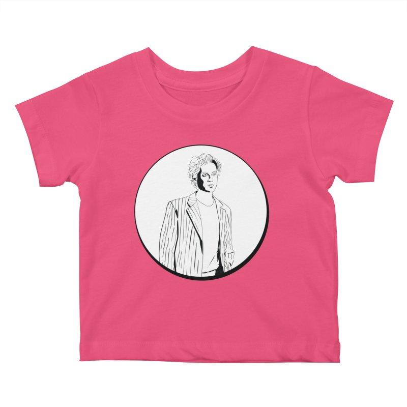 Luke Kids Baby T-Shirt by Boshik's Tshirt Shop