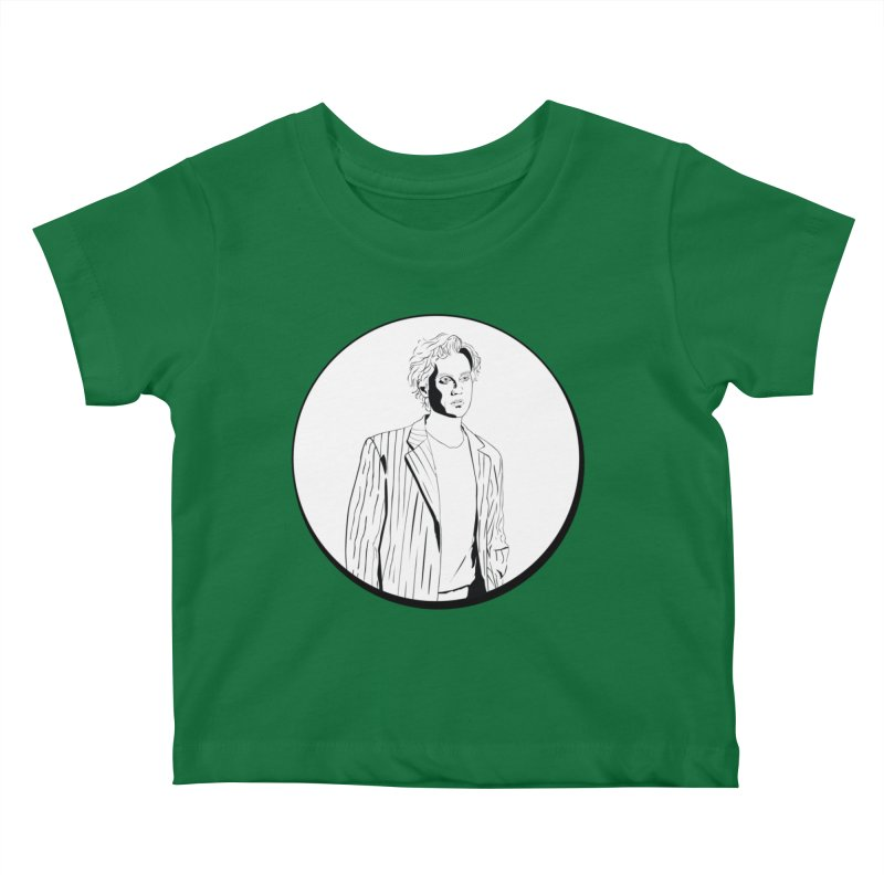 Luke Kids Baby T-Shirt by Boshik's Tshirt Shop
