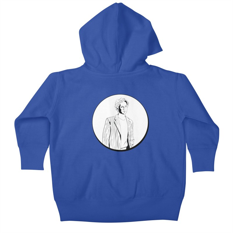 Luke Kids Baby Zip-Up Hoody by Boshik's Tshirt Shop