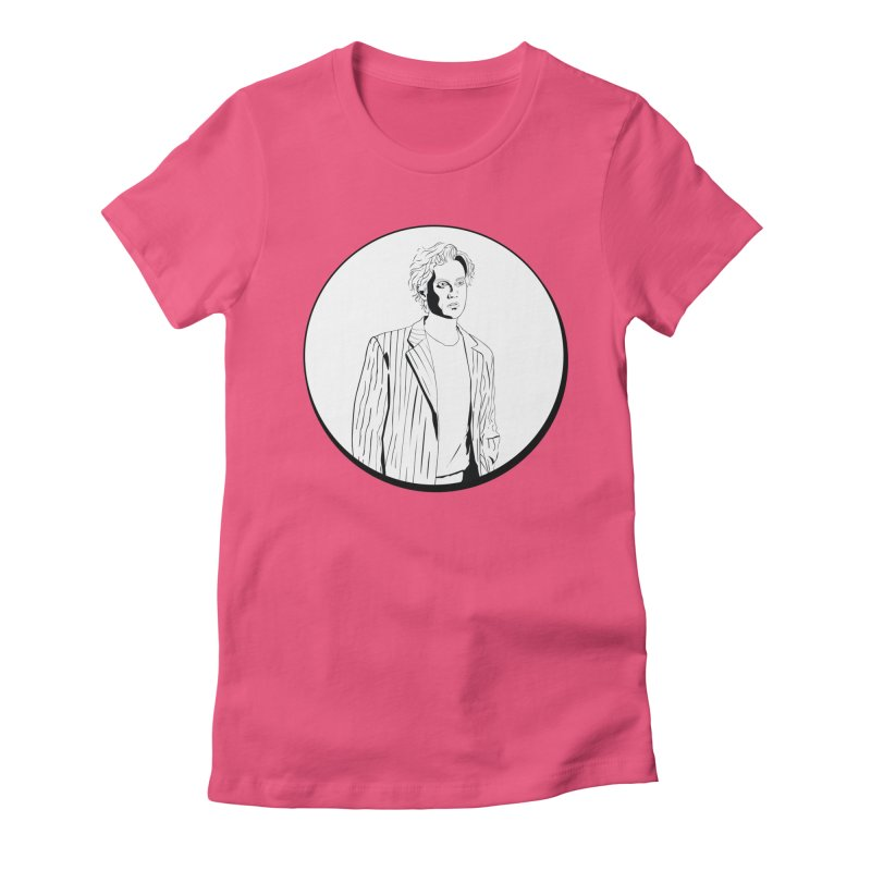Luke Women's Fitted T-Shirt by Boshik's Tshirt Shop