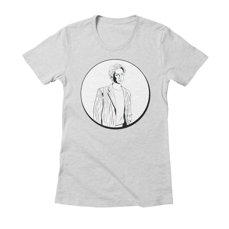 Luke Women's Fitted T-Shirt by Boshik's Tshirt Shop