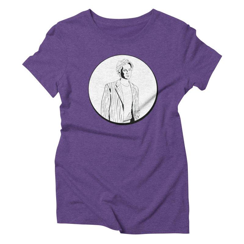 Luke Women's Triblend T-Shirt by Boshik's Tshirt Shop