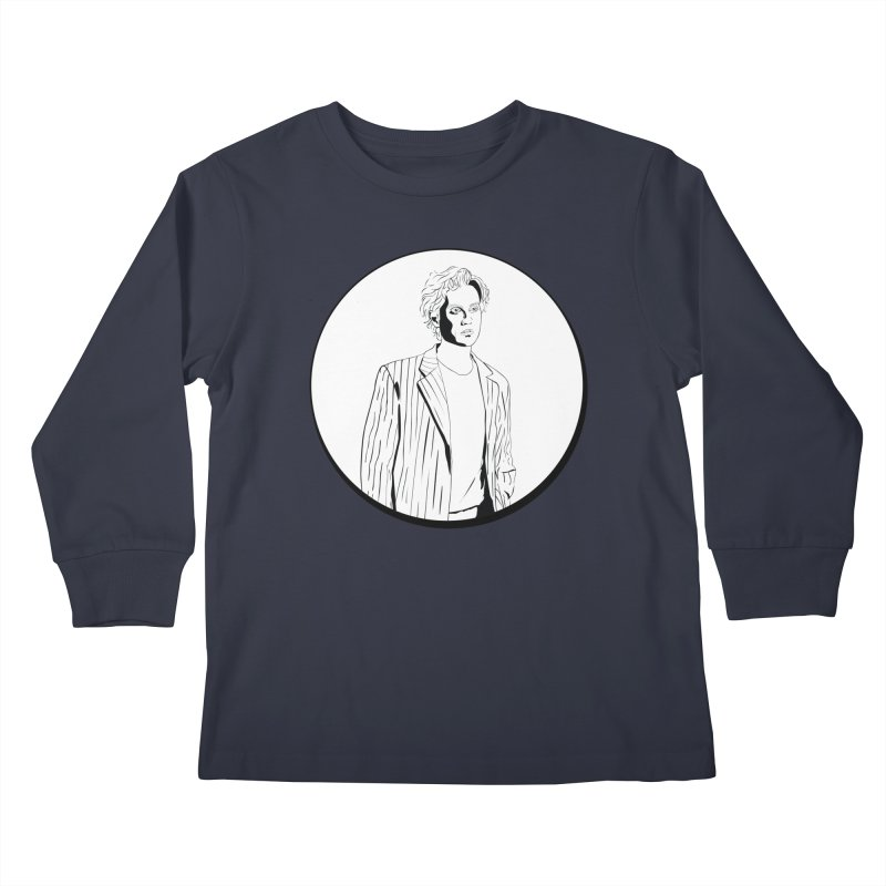 Luke Kids Longsleeve T-Shirt by Boshik's Tshirt Shop