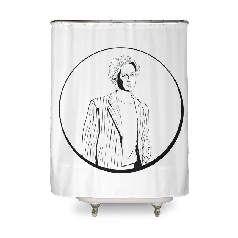 Luke Home Shower Curtain by Boshik's Tshirt Shop