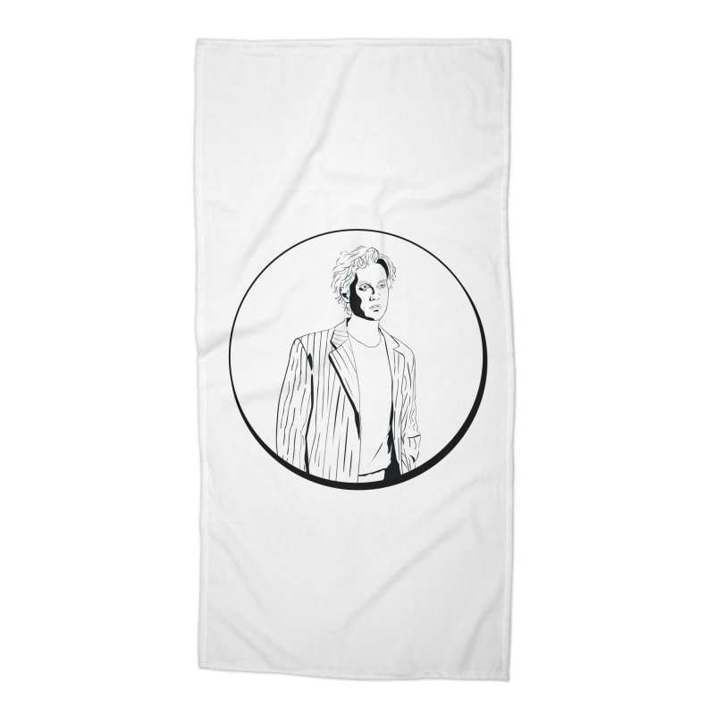 Luke Accessories Beach Towel by Boshik's Tshirt Shop