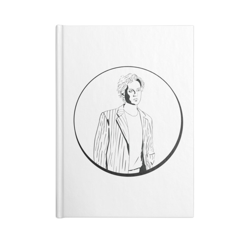 Luke Accessories Blank Journal Notebook by Boshik's Tshirt Shop