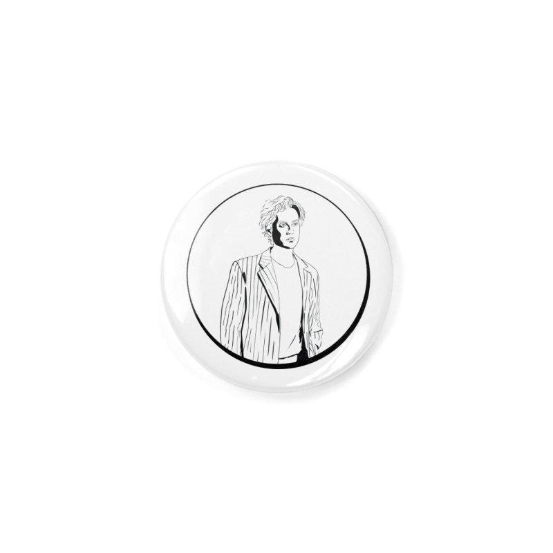 Luke Accessories Button by Boshik's Tshirt Shop
