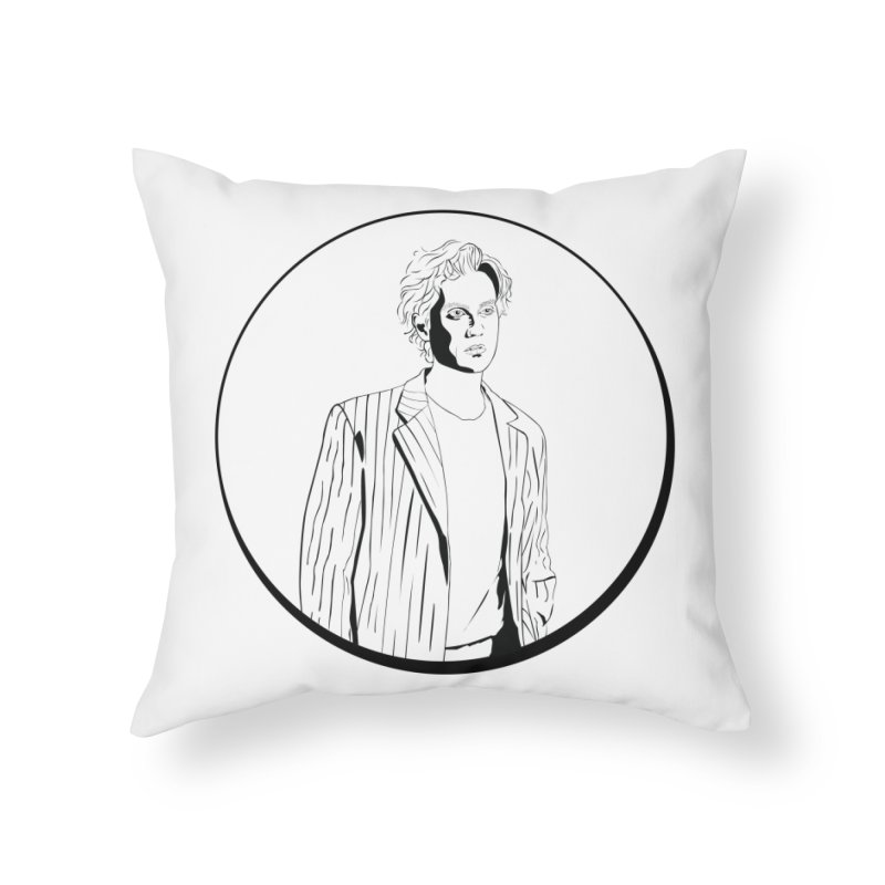 Luke Home Throw Pillow by Boshik's Tshirt Shop