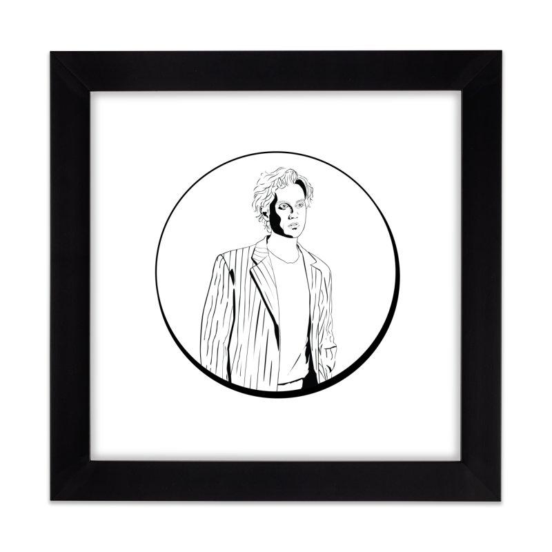 Luke Home Framed Fine Art Print by Boshik's Tshirt Shop