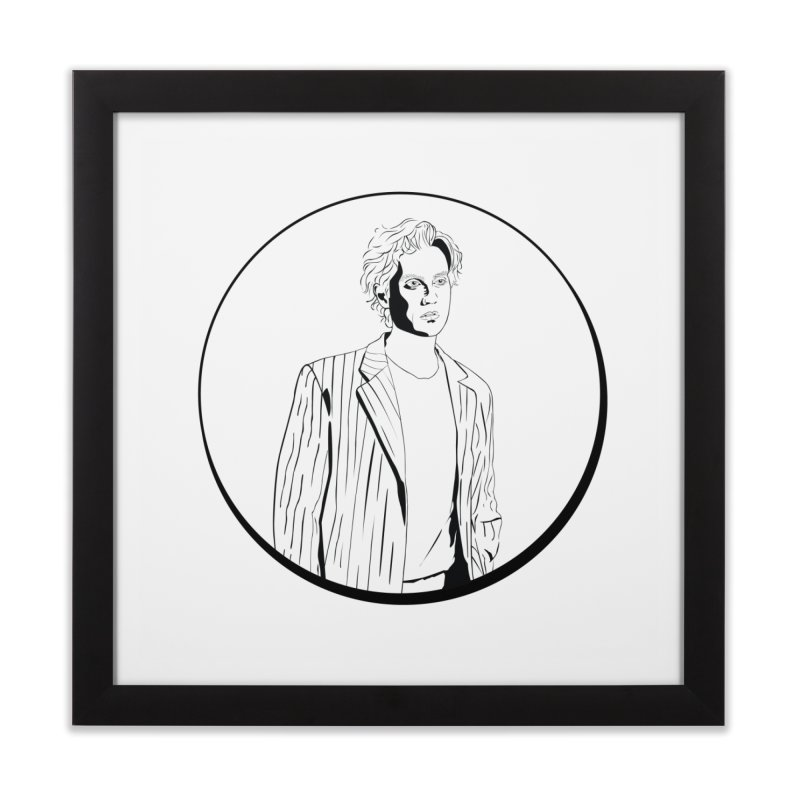 Luke Home Framed Fine Art Print by Boshik's Tshirt Shop
