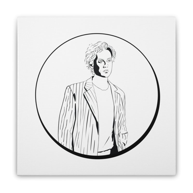 Luke Home Stretched Canvas by Boshik's Tshirt Shop
