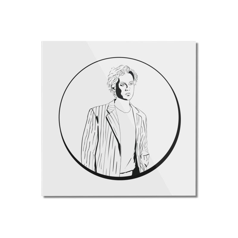 Luke Home Mounted Acrylic Print by Boshik's Tshirt Shop