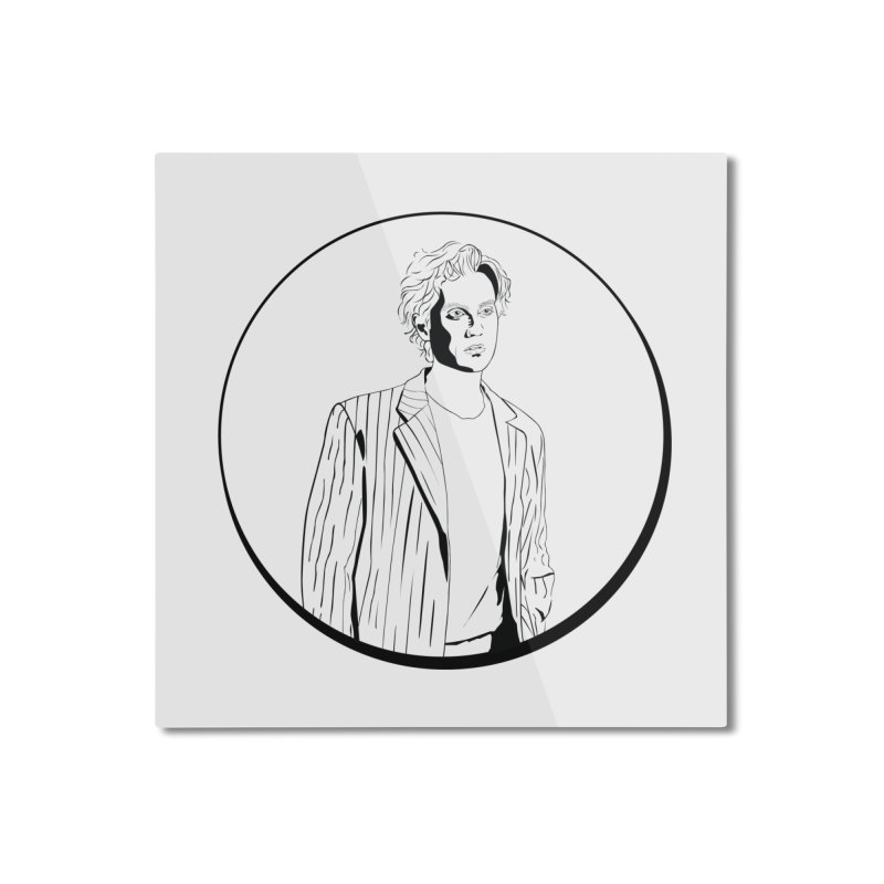 Luke Home Mounted Aluminum Print by Boshik's Tshirt Shop