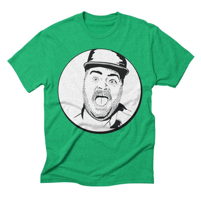 Heeey There Men's Triblend T-Shirt by Boshik's Tshirt Shop