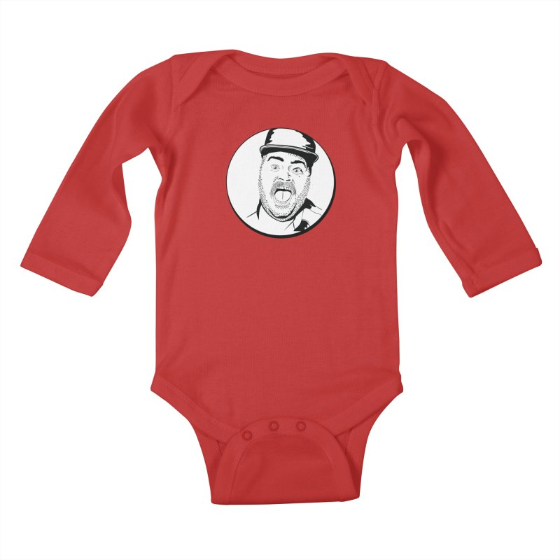 Heeey There Kids Baby Longsleeve Bodysuit by Boshik's Tshirt Shop