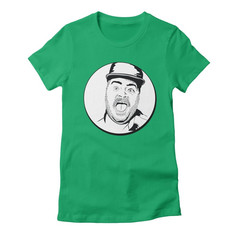 Heeey There Women's Fitted T-Shirt by Boshik's Tshirt Shop
