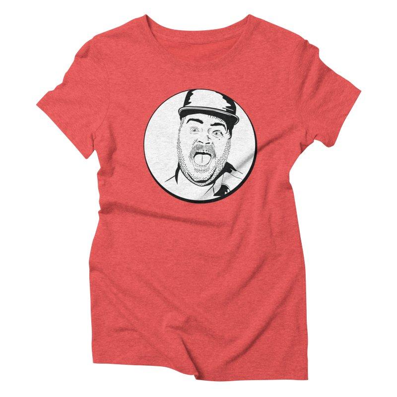 Heeey There Women's Triblend T-Shirt by Boshik's Tshirt Shop