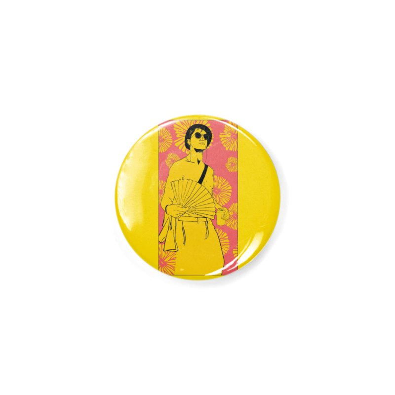 Party Josh Accessories Button by Boshik's Tshirt Shop