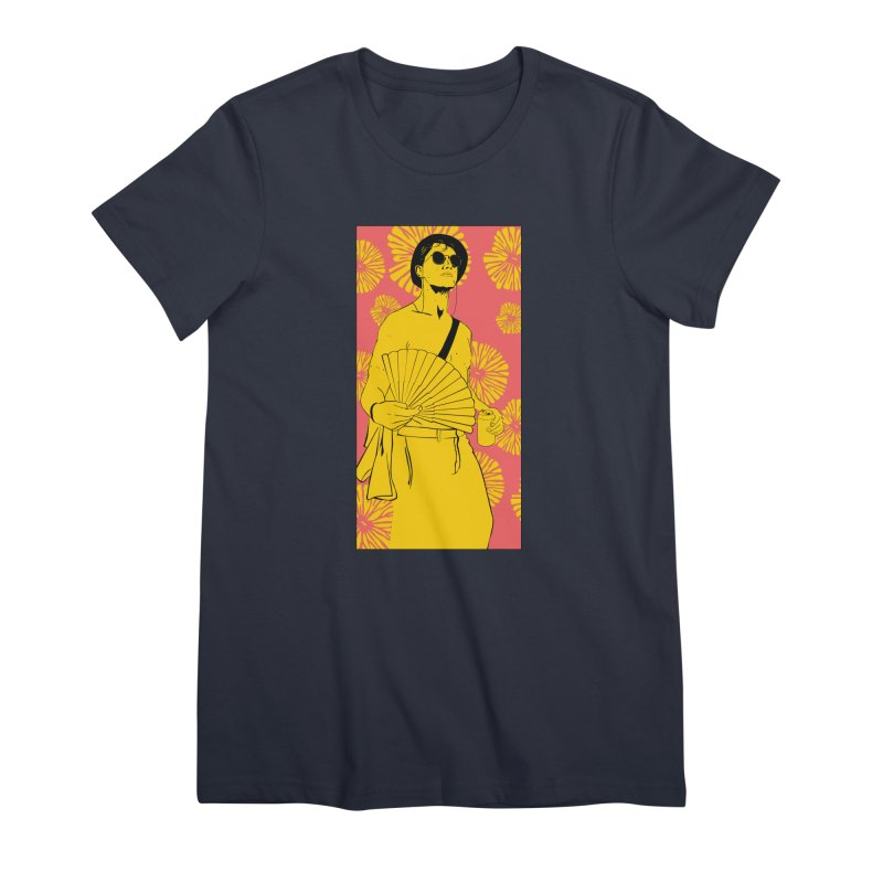 Party Josh Women's Premium T-Shirt by Boshik's Tshirt Shop
