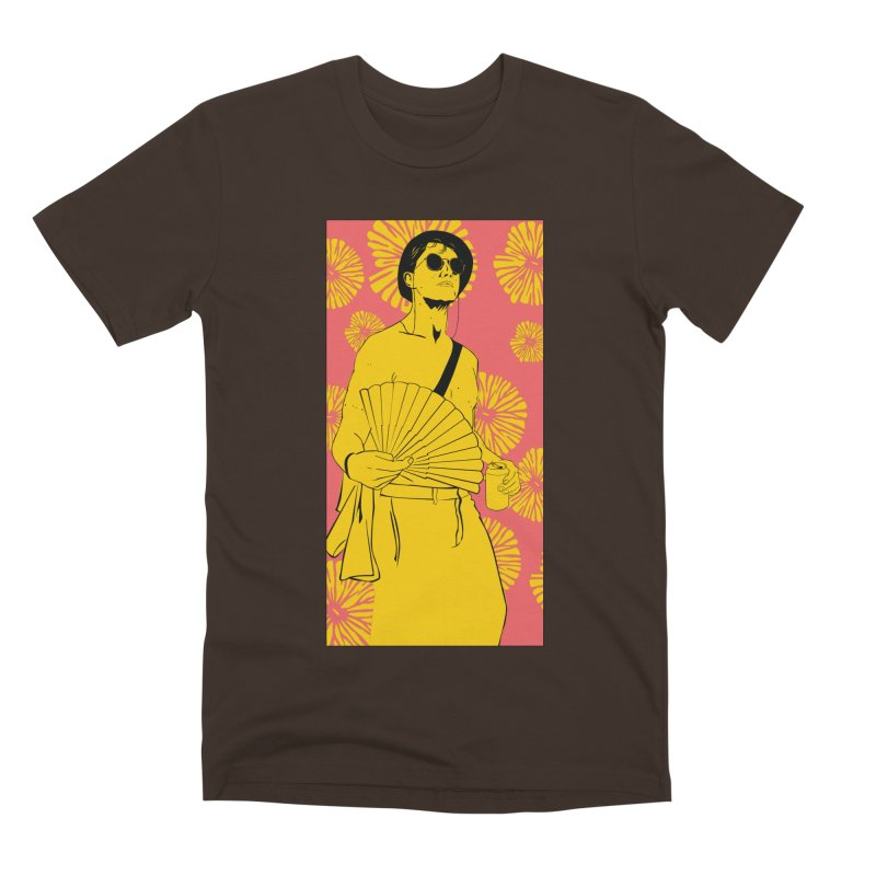 Party Josh Men's Premium T-Shirt by Boshik's Tshirt Shop