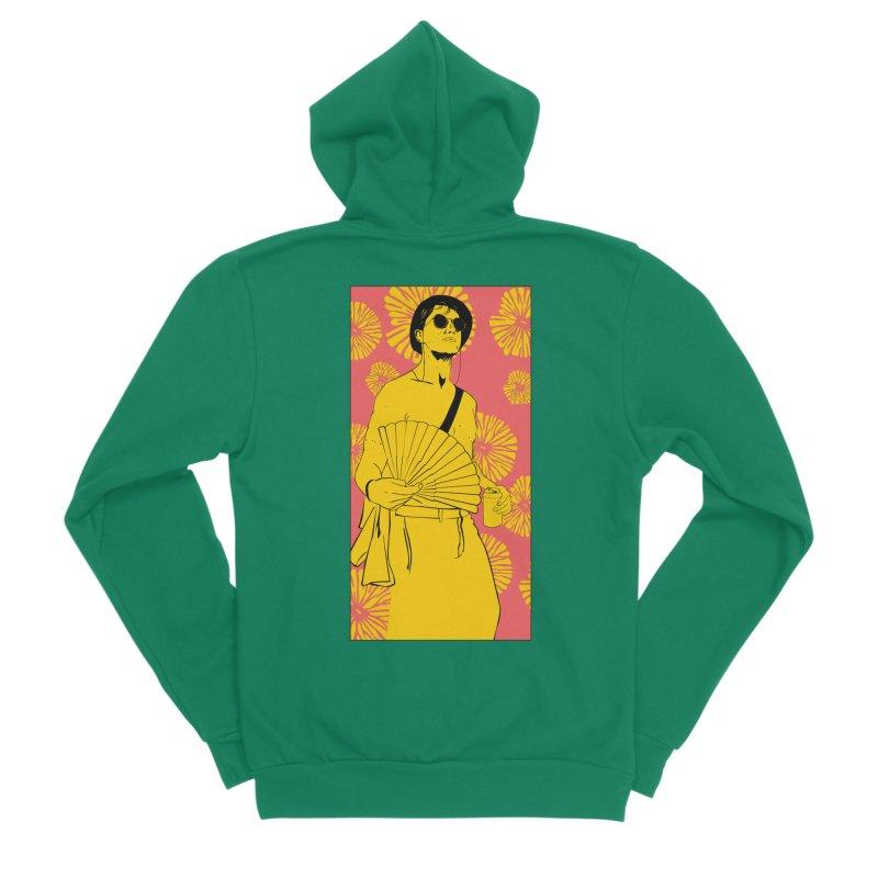 Party Josh Men's Sponge Fleece Zip-Up Hoody by Boshik's Tshirt Shop