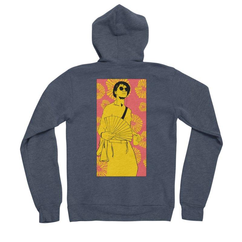 Party Josh Women's Sponge Fleece Zip-Up Hoody by Boshik's Tshirt Shop