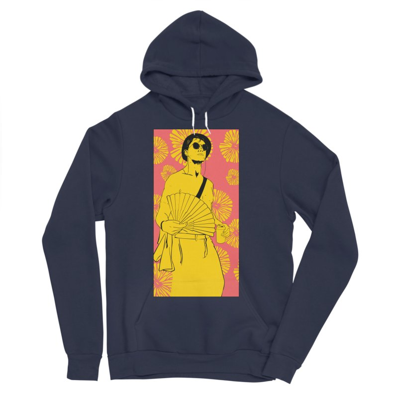 Party Josh Women's Sponge Fleece Pullover Hoody by Boshik's Tshirt Shop