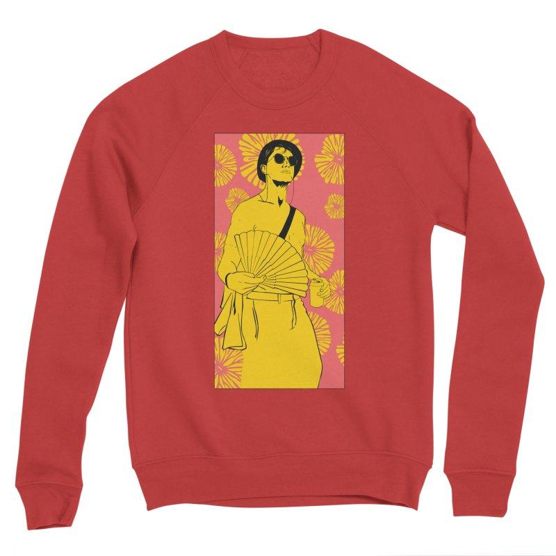 Party Josh Men's Sponge Fleece Sweatshirt by Boshik's Tshirt Shop
